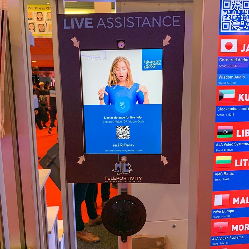 ISE 2019 - live assistance