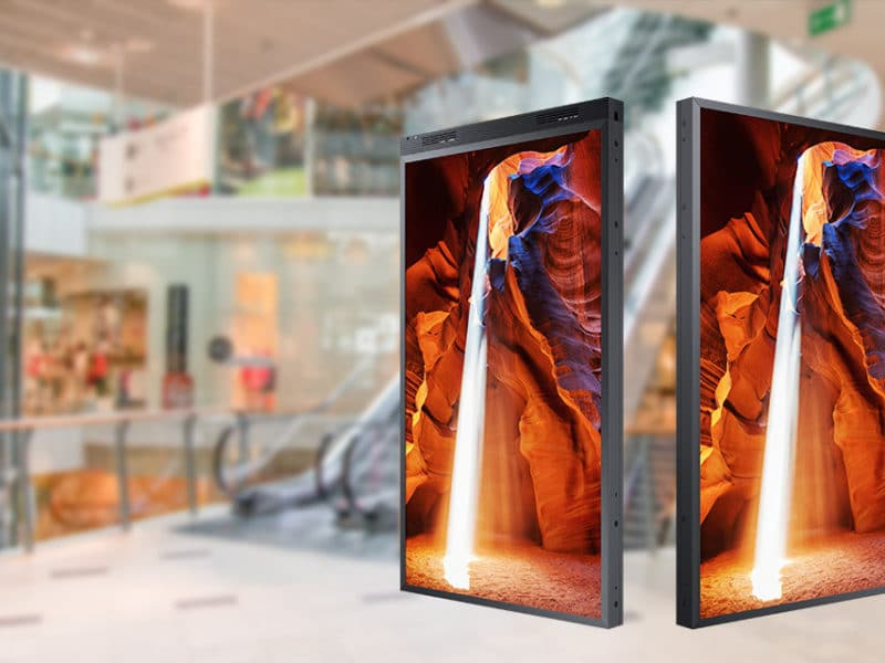 Double sided display - Kimeru